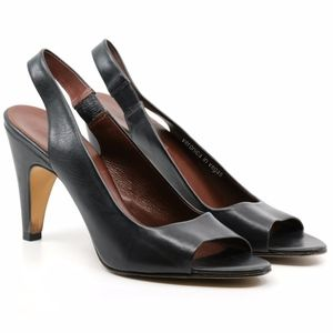 BANANA REPUBLIC PEEP TOE SLINGBACK HIGH HEEL